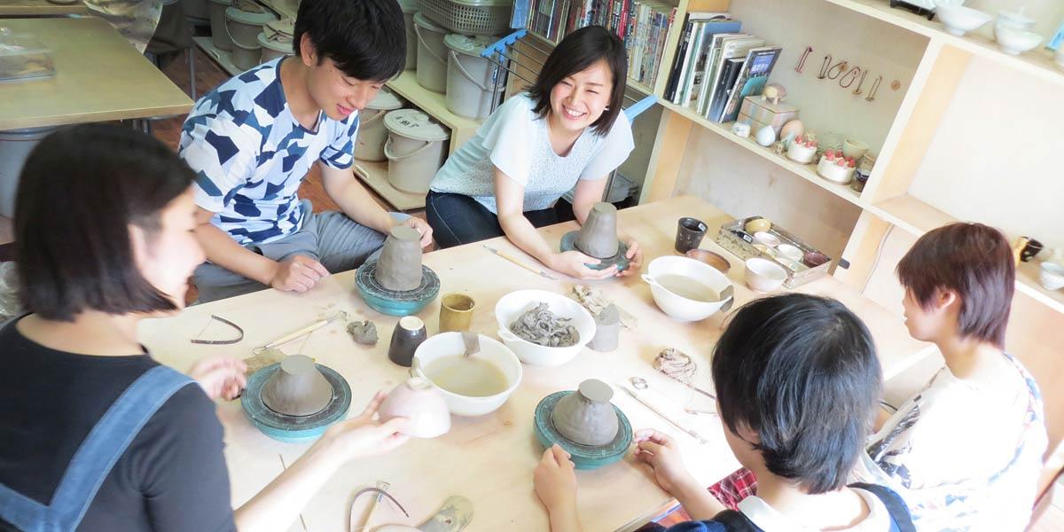 東京都内で楽しむ初めての陶芸体験プラン・陶芸教室Futaba