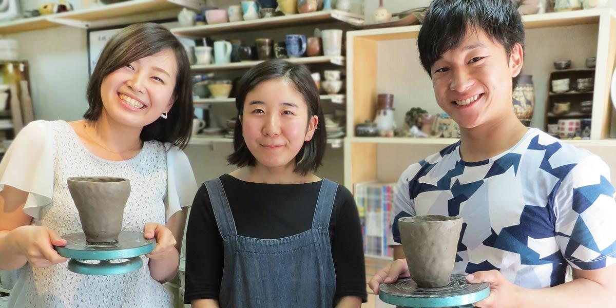 東京都内で楽しむカップル陶芸体験デートプラン・陶芸教室Futaba