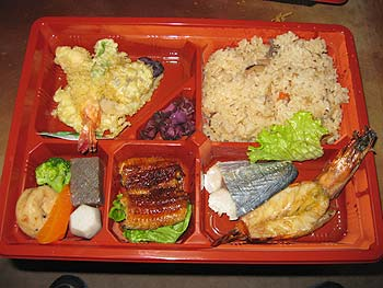 陶芸教室Futabaで食べるロケ弁当