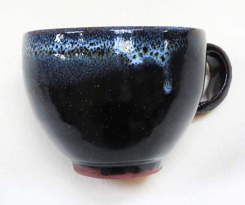 陶芸教室Futabaの電動ろくろで成形した本格コーヒーカップ