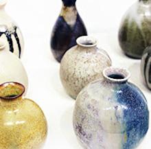 織田雪穂先生の陶芸作品