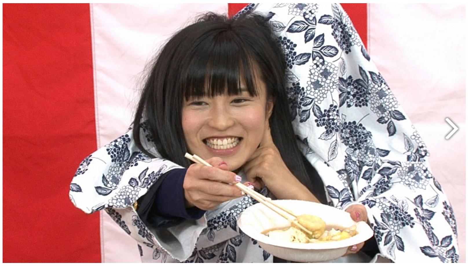 テレビ番組中の小島瑠璃子